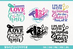 Hairdresser SVG Bundle | Hair Stylist & Hair Salon SVG Files Product Image 4