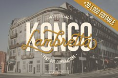 Kongo Lambretta Font Duo Product Image 1
