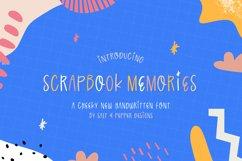 Scrapbook Memories Font Product Image 1