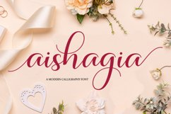 Aishagia Script Product Image 1