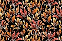 Decorative set - pattern and wreath Product Image 1