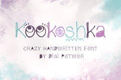 Kookoshka Font Product Image 1