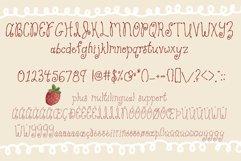 Strawberry Cake Whimsical Font Product Image 2