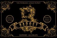 Badoet | Victorian Logo Fonts Product Image 1