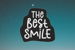 The Best Smile - A Cute Handwritten Font Product Image 1
