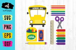 School Supplies Clipart Product Image 1