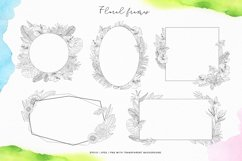 Tropical blossom graphic collection Product Image 4