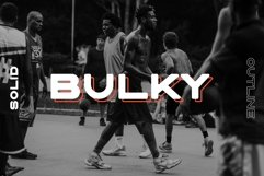 BULKY. Display typeface, 2 styles. Product Image 1