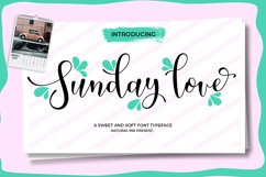 Sunday love Script Product Image 7