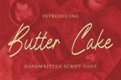Web Font Butter Cake Font Product Image 1