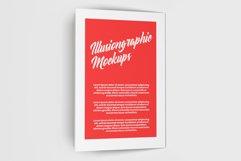Bi-Fold Half Letter Brochure Mock-up Product Image 4