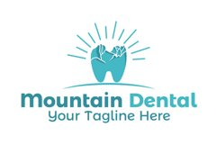 Mountain dental logo Product Image 1