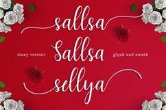 Web Font Sallsa Script Product Image 2