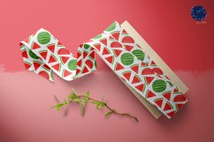 Watermelon Fruit Seamless Pattern Background Product Image 6