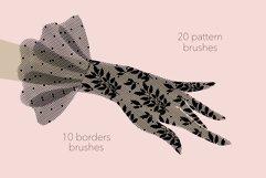 Lace pattern procreate brushes Product Image 2