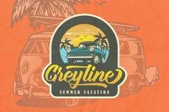 Groyline Retro font Product Image 3