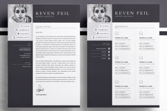 Professional Resume / CV Template Product Image 3
