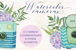 Watercolor Vintage Cameras Product Image 5