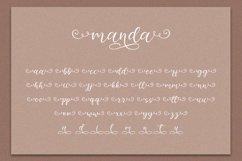 Manda - Modern Script Font Product Image 9
