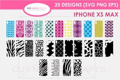 26 iPhone XS Max SVG Designs| Phone Case Decals Product Image 1
