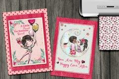 Valentine's Digital Paper Pack Product Image 2
