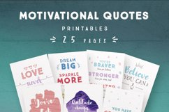 Motivational Quotes for Commercial Use Product Image 1
