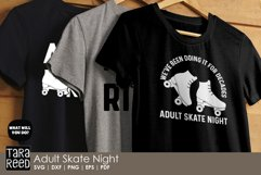 Adult Skate Night - Roller Skating SVG and Cut Files Product Image 2