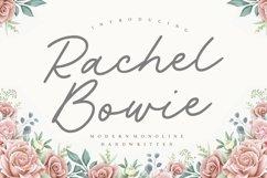 Rachel Bowie Modern Monoline Handwritten Font Product Image 1