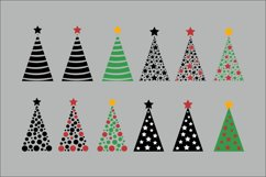 Christmas Trees SVG Clipart Product Image 4