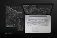 55 Topographic Maps Vector Bundle Product Image 3