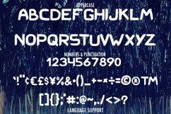 Hard Brush - bold uppercase font Product Image 4