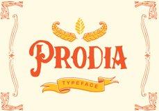 Prodia Typeface + Bonus Product Image 1