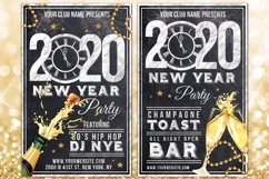 Chalk New Years Eve Flyer Product Image 3