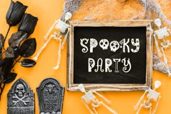 Funny Halloween Font Product Image 4