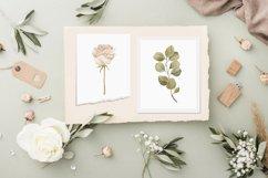 Boho floral clipart, spring flower elements Product Image 5