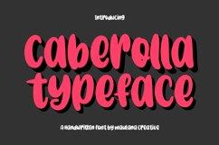 Caberolla Handwritten Font Product Image 1