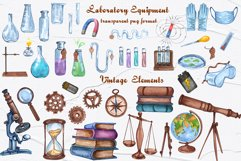 Science Watercolor Clip Art Product Image 3