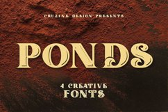 Ponds Typeface Product Image 5