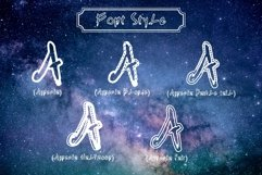 Agnezia - 5 Font styles and 150 Swashes Product Image 4