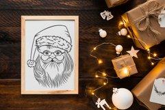 Santa Christmas svg bundle Product Image 7