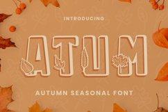 Atum Font Product Image 1