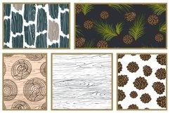 Woods Rhapsody Seamless Patterns Product Image 5