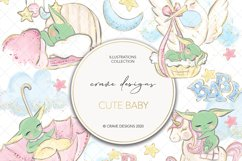 Cute Baby Clip Art Product Image 1