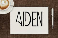 Aiden Art-Deco Font Product Image 1