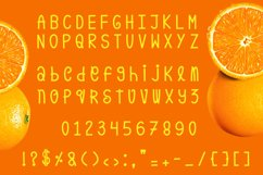 Orange Pulp : Sweet and Tasty Font Product Image 6