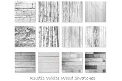 Rustic White Wood Textures - White Wood Backgrounds Product Image 2