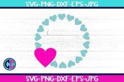 Valentine Heart Monogram svg Product Image 1