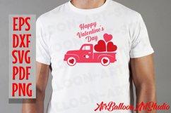 Valentines Day Truck Svg Valentines SVG Love Svg Valentine Product Image 5