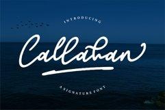Callahan - A Signature Font Product Image 1