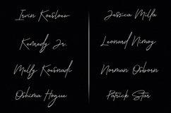 Callifornia   Handwritten Signature Font Product Image 4